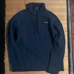 Half zip Patagonia sweatshirt